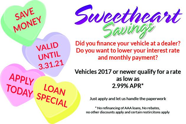 Sweetheart Savings