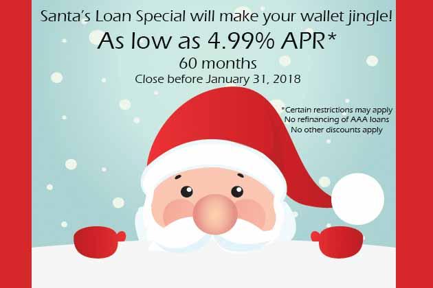 Santa's Special Signature Loan
